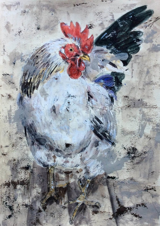 galo-1-sofia-simoes-pintura-painting-pintora-lisboa-lisbon